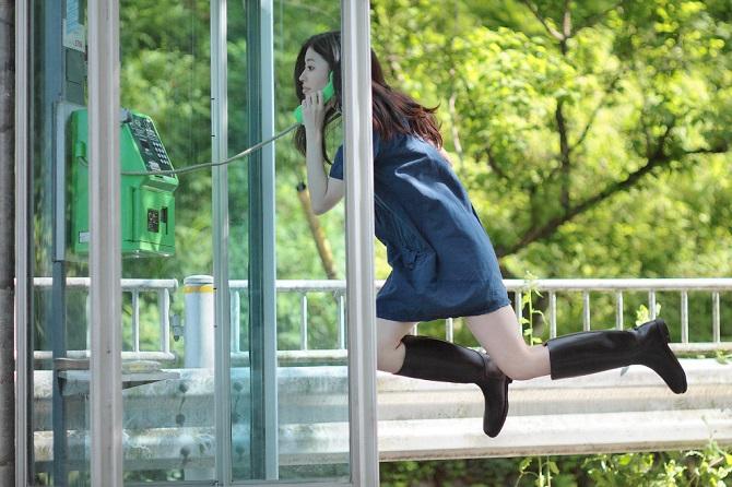 Парящие в воздухе образы от Natsumi Hayashi