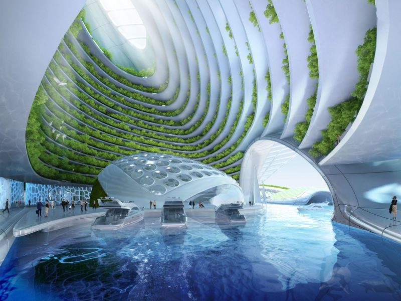 Проект жилого комплекса, распечатанного на 3D-принтере из отходов