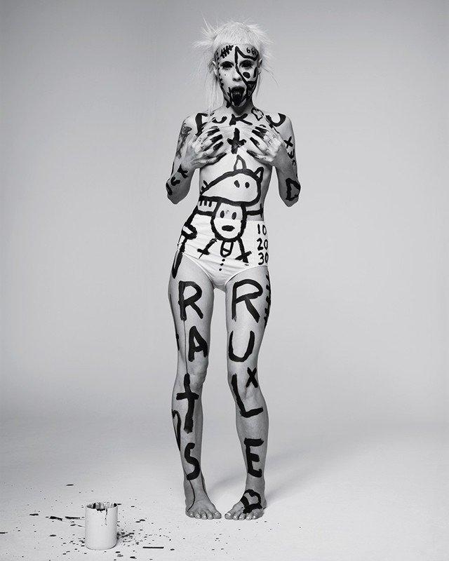 Фотосессия Die Antwoord для журнала Dazed Magazine