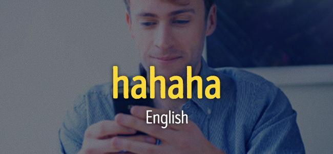 Особенности национального смеха в сообщениях