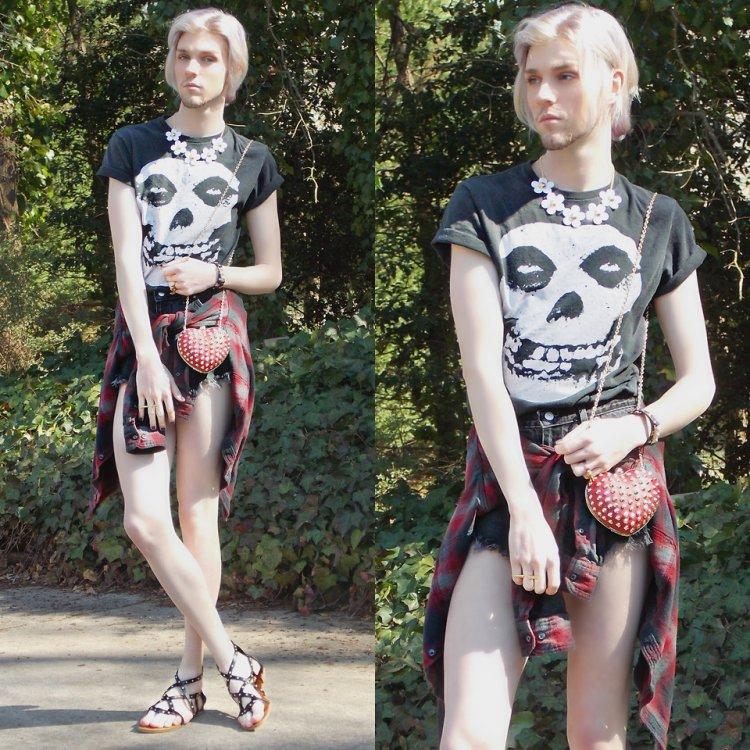 Странная одежда от модного парня из США