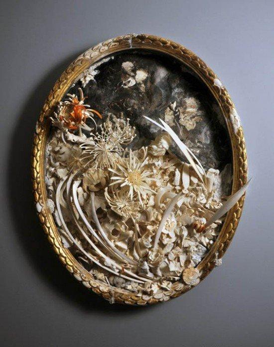 Уникальные скульптуры из костей