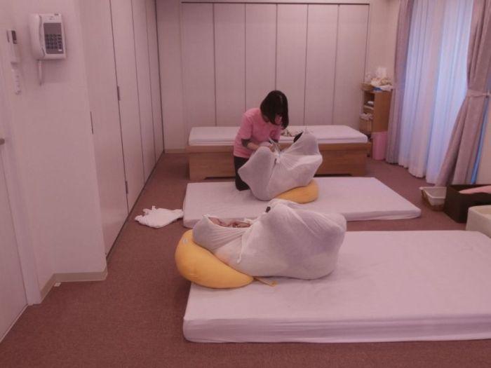 Особый подход к пеленанию новорожденных в Японии