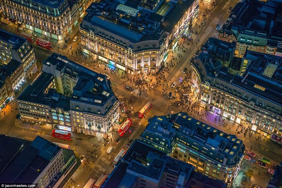 Невероятные аэрофотографии Лондона