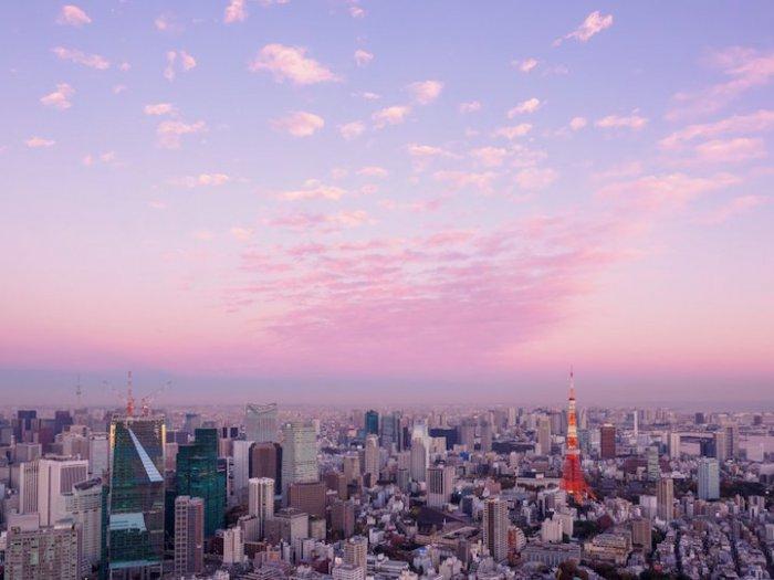 Панорамы Токио со смотровой площадки