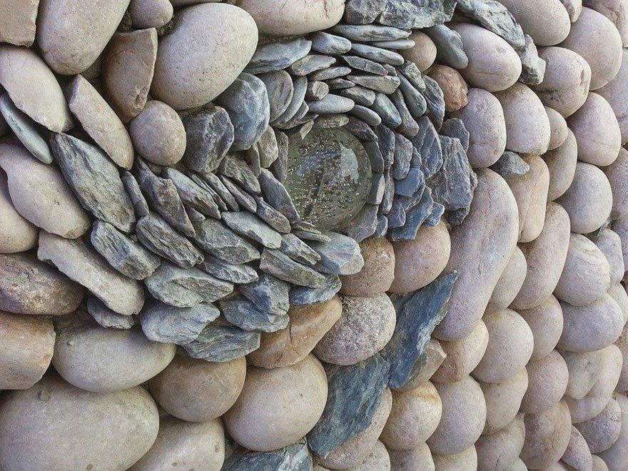Произведения искусства из камней от Джонни Клэспера