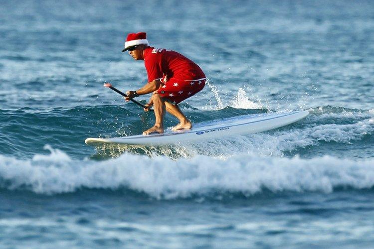 Как отмечают Рождество на пляже