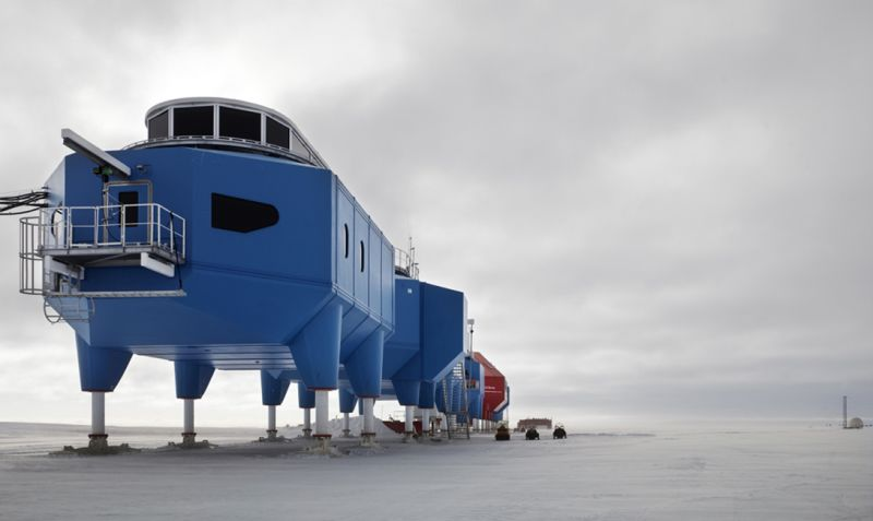 Как устроена антарктическая исследовательская станция Halley VI