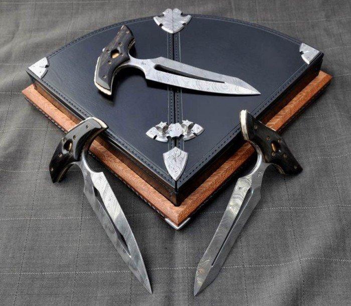Пуш-даггер - необычный нож для самообороны из Дикого Запада