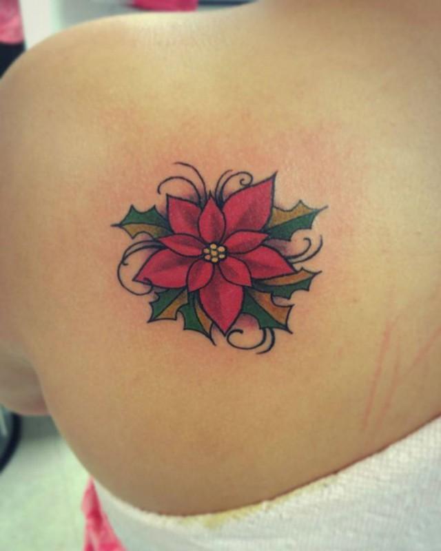 Рождественские татуировки