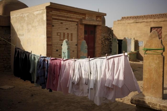 Город мертвых на окраине Каира оказался очень даже живым