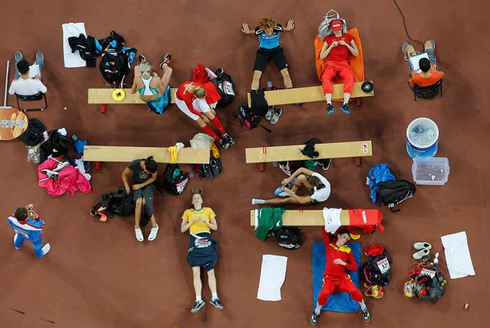 Лучшие спортивные снимки минувшего года