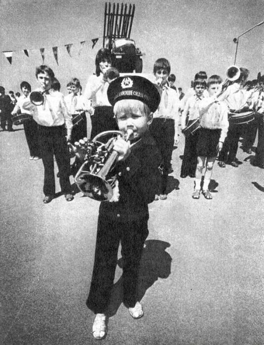 Советские дети 80-х на старых фото