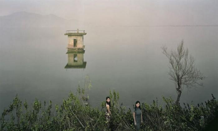 Заброшенные городские и промышленные китайские пейзажи в фотопроекте Чена Чжагана