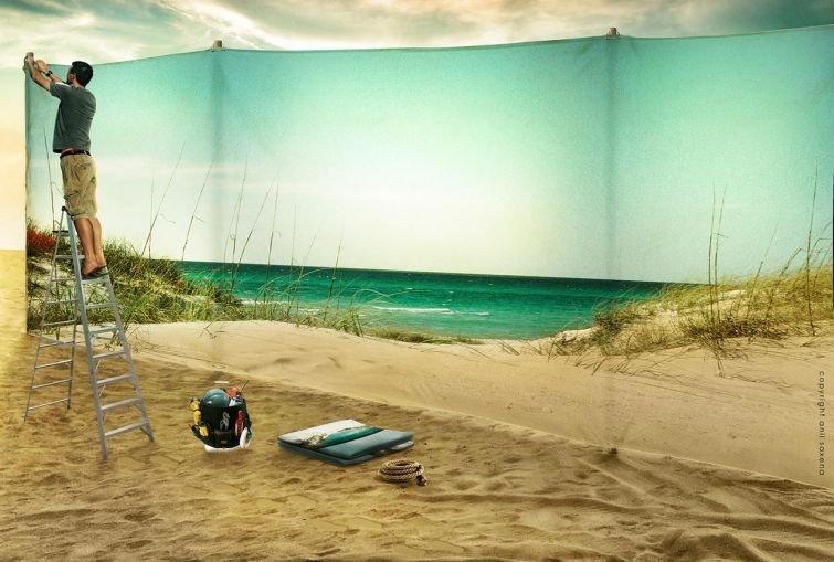 Фантастические фотоманипуляции от Анила Саксена