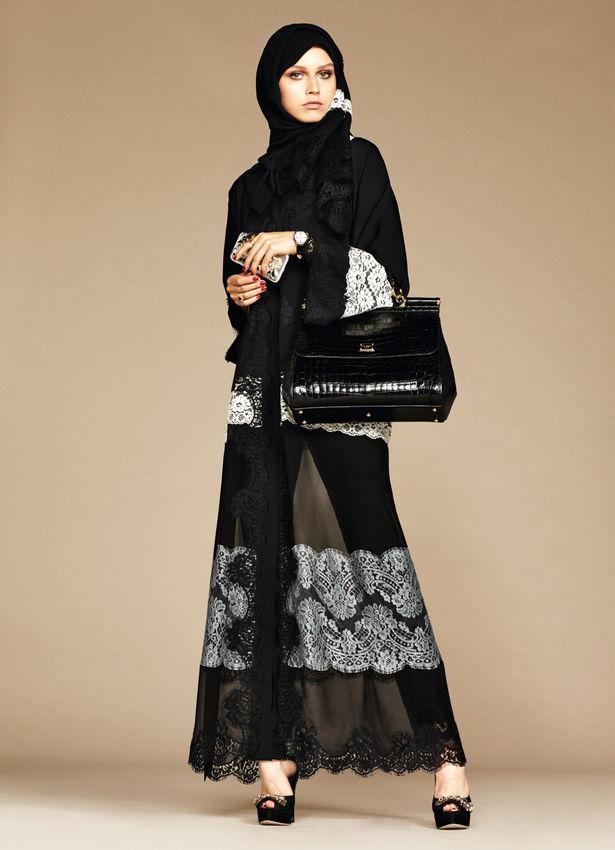 Первая арабская коллекция от Dolce & Gabbana
