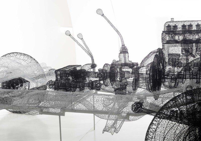 Проволочные скульптуры от Ши Джиндяна