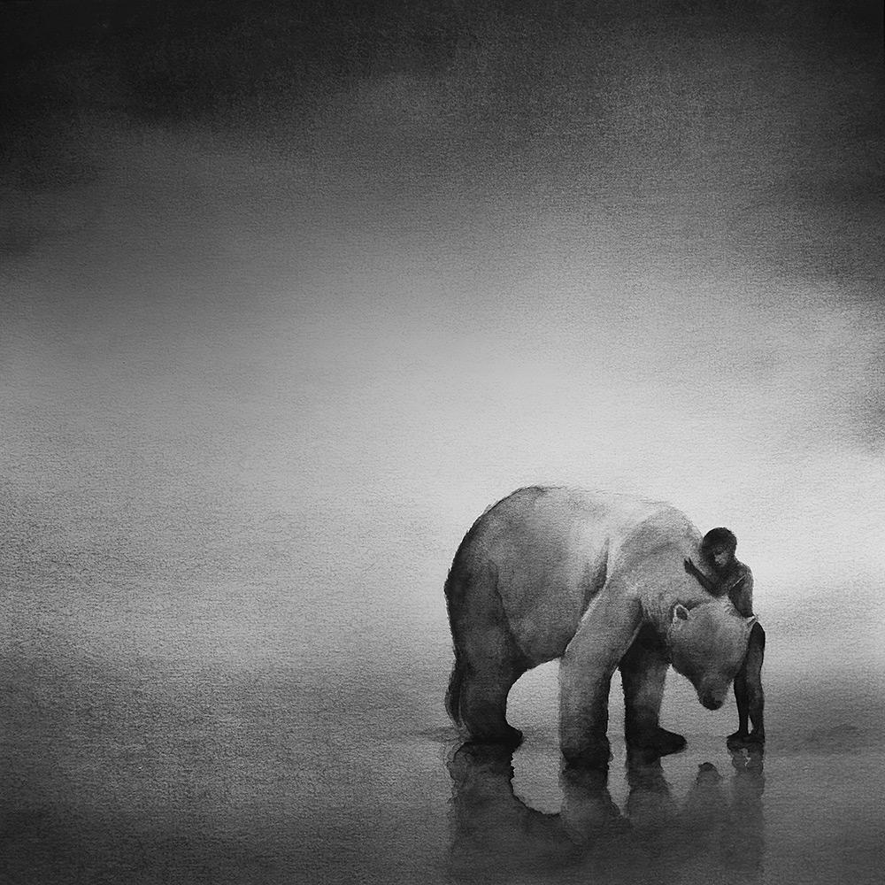 Дети и дикие животные от Элисии Эдижанто