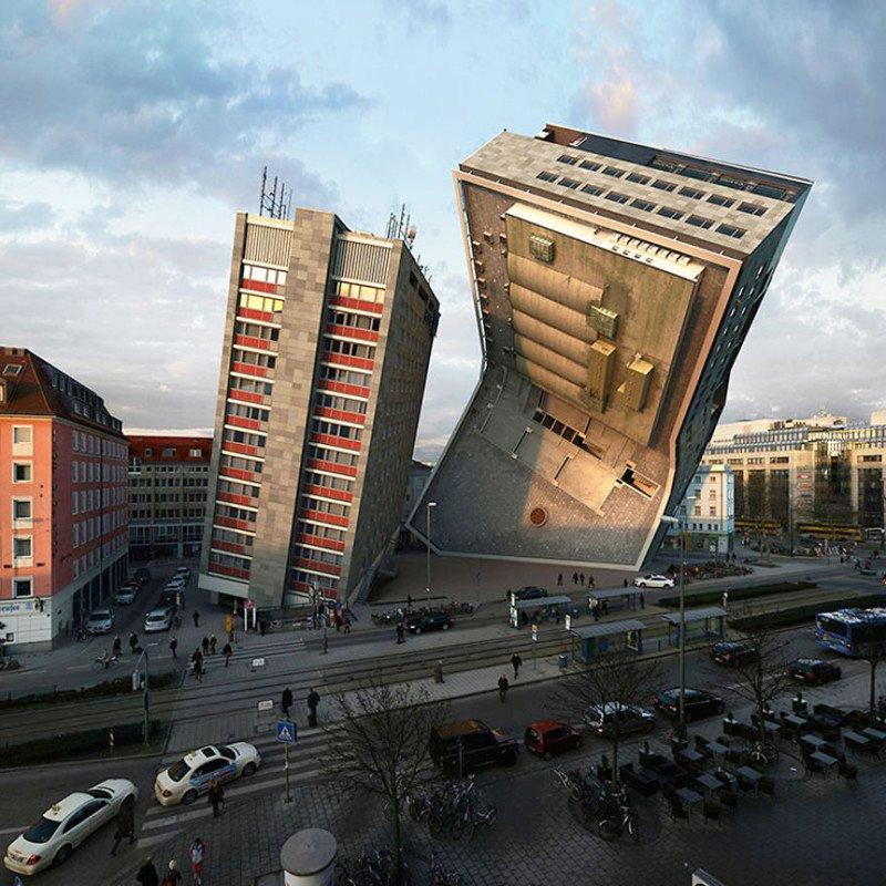 Потрясающая архитектура от Виктора Энрича