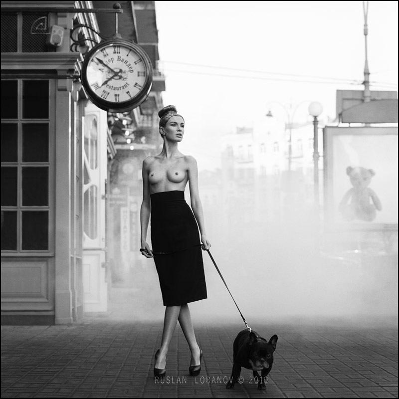 Черно-белые ню фотографии от Руслана Лобанова