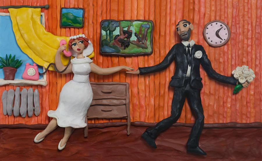 Пластилиновые картины от Татьяны Лазарюк