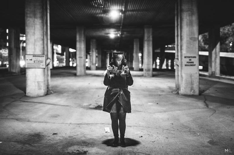 Подруга фотографа, которая не любит фотографироваться