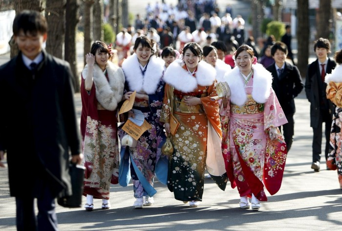 День совершеннолетия в Японии