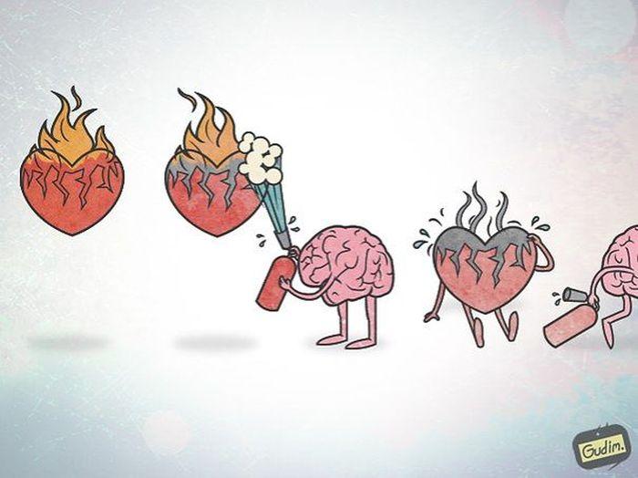 Проблемы современного общества в саркастических комиксах Антона Гудима