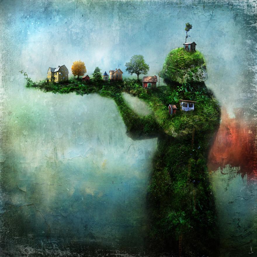 Сказочные иллюстрации от Александра Янссона