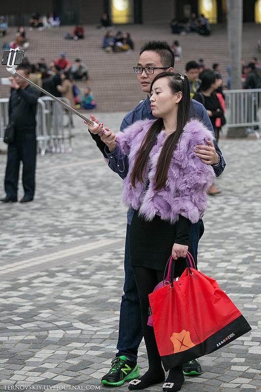 Уличная мода в Гонконге