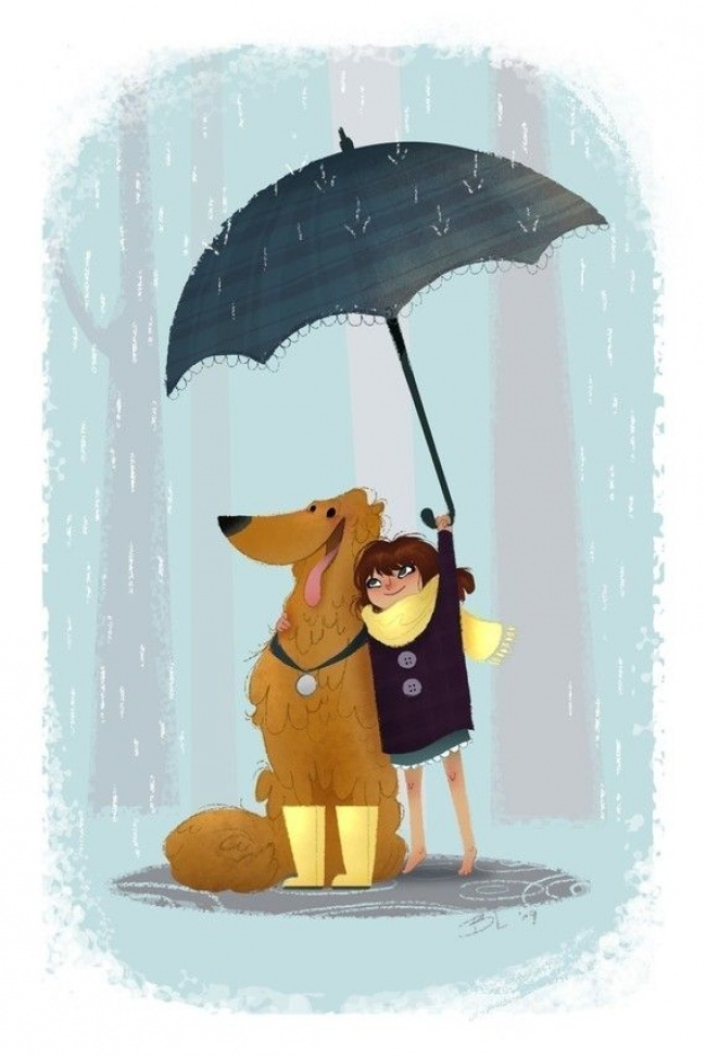 15 иллюстраций о нашей любви к домашним животным