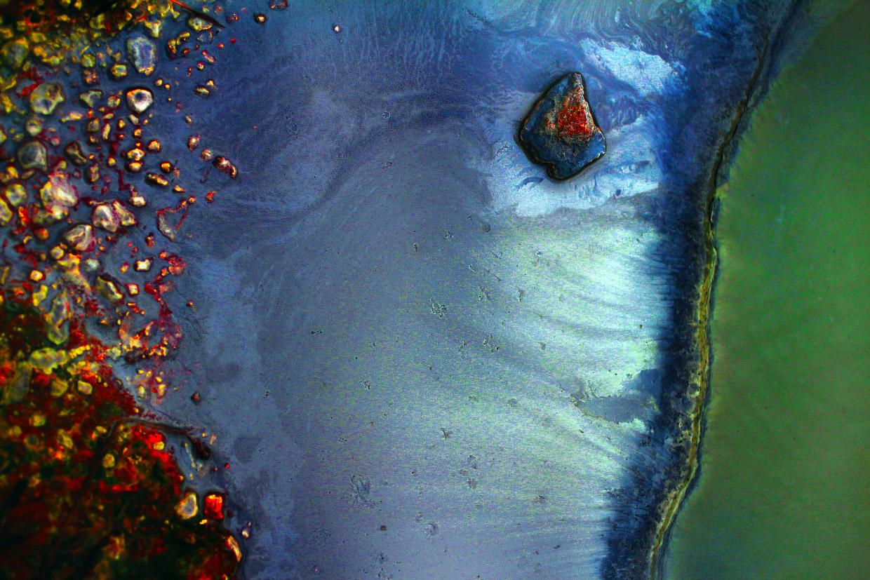 Фотографии горячих источников Исландии крупным планом