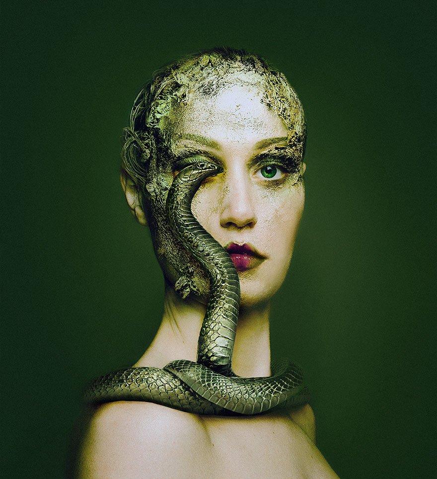 Венгерский фотограф, перевоплощающийся в животных