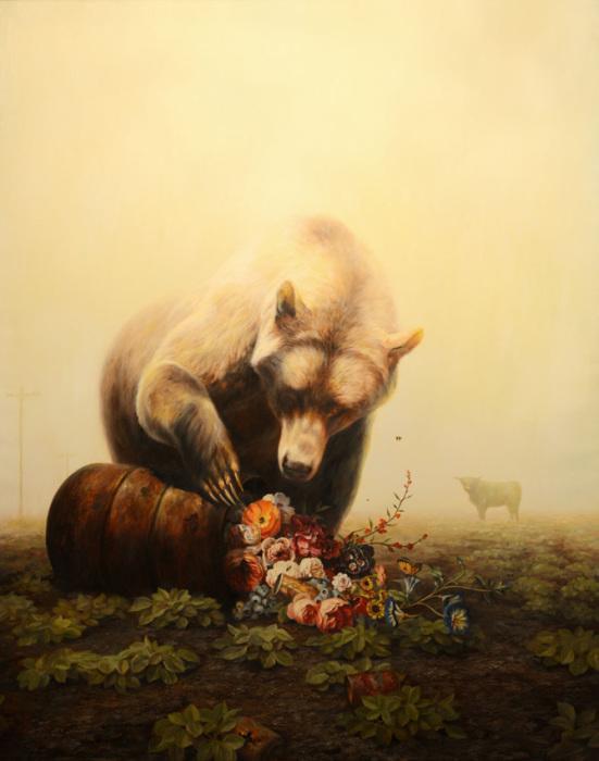 Картины с посланием из апокалиптического мира от художника Мартина Виттфута