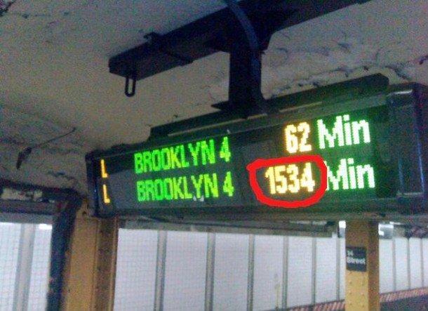 Приколы из нью-йоркского метро