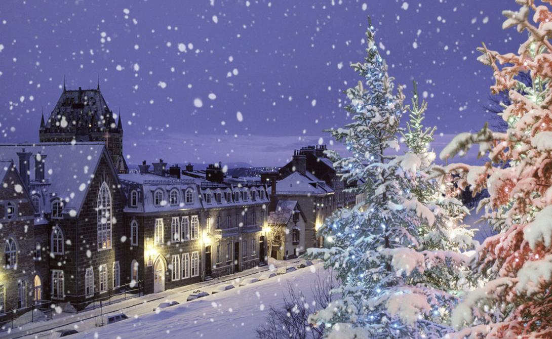 Самые снежные города