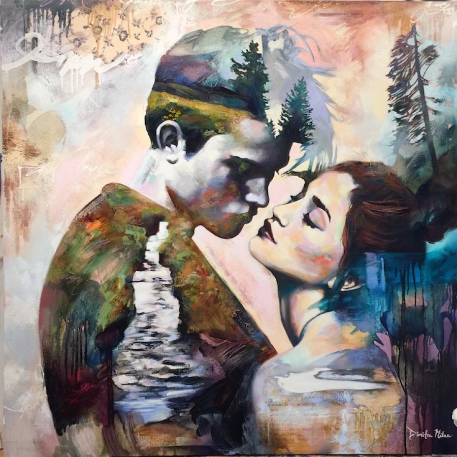 Мечты на картинах 16-летней художницы