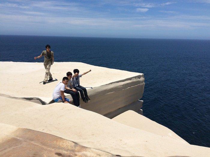 Свадебный торт - скала в Австралии