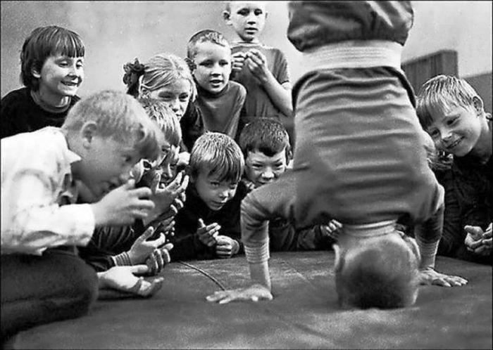 Подборка фотографий простых советских детей