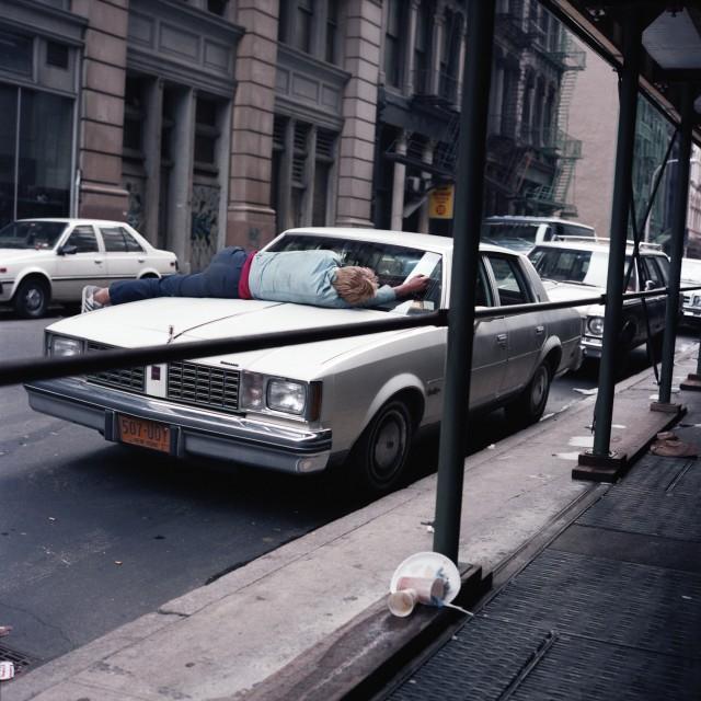 Нью-Йорк 80-х годов на фотографиях Джанет Делани