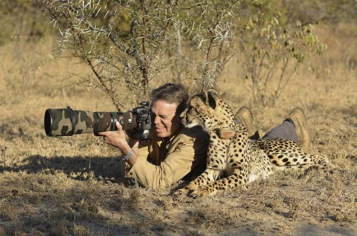 Фотографы среди животных