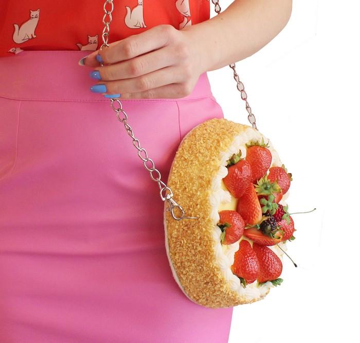 Реалистичные позитивные сумки, которые повышают аппетит
