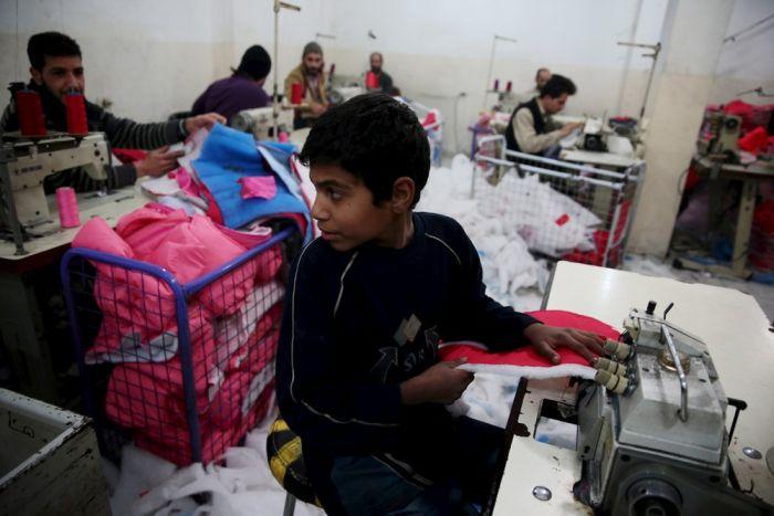 Дети, которые работают с ранних лет