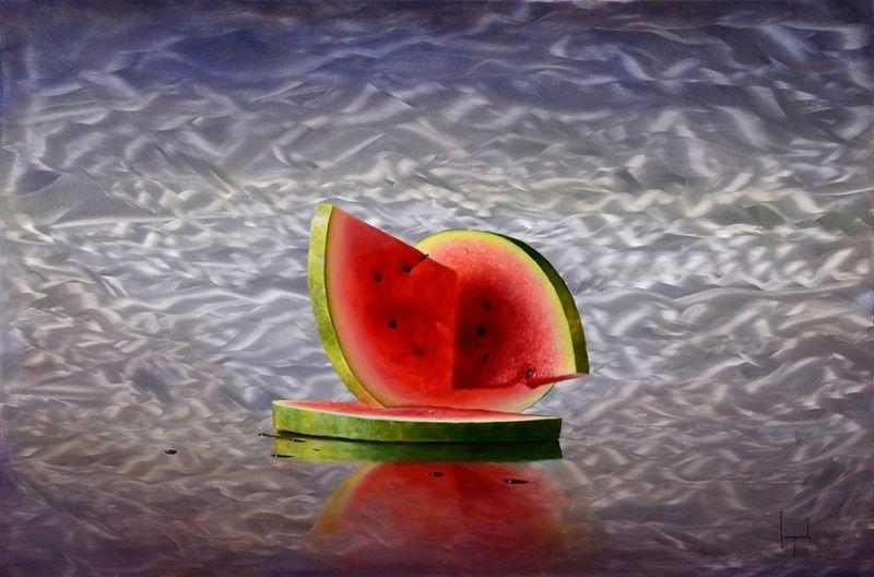Гиперреалистичные картины от Дарио Компаниле