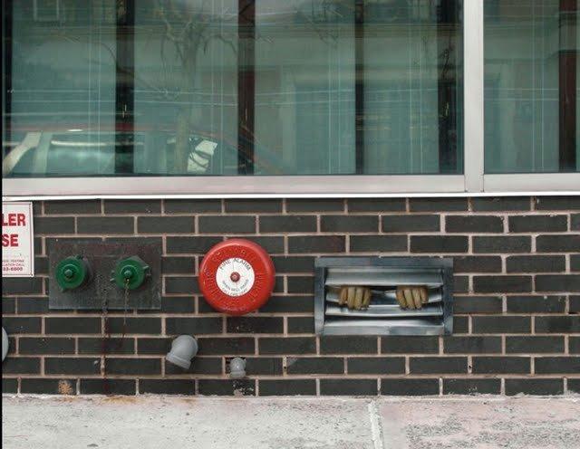 Прикольные наклейки с вентиляционными решетками