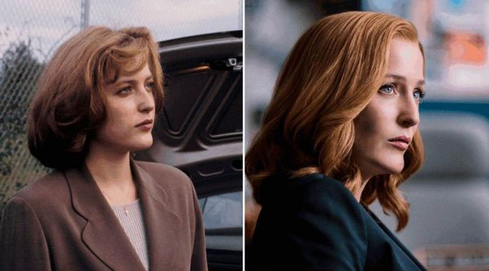 Актеры Секретных материалов тогда и сейчас