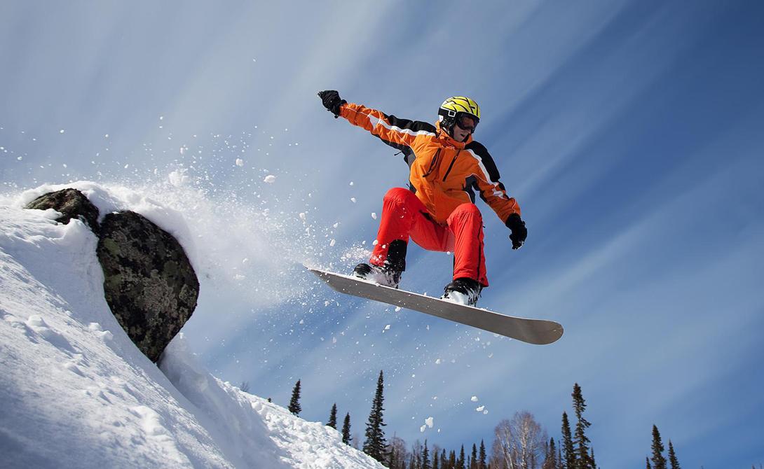 Снежные виды спорта, которые освоить до конца зимы