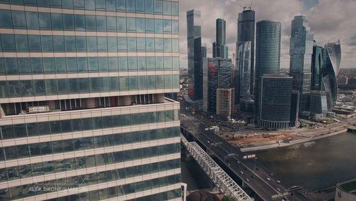 Великолепные снимки Москвы, сделанные при помощи дрона
