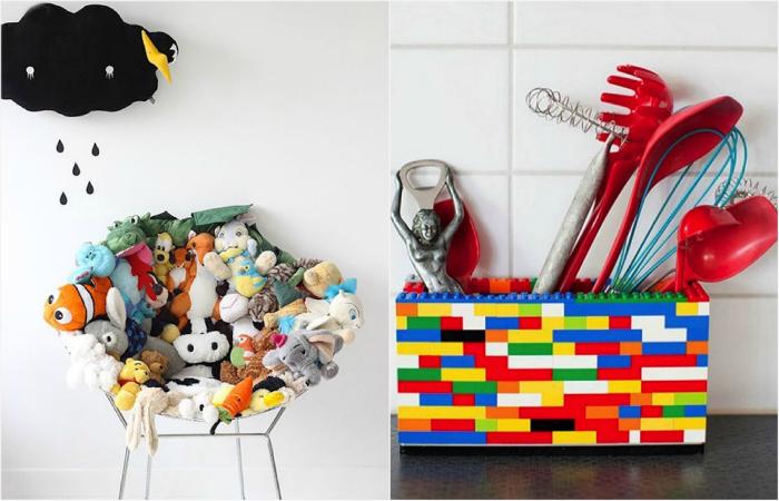 17 вдохновляющих примеров использования старых игрушек