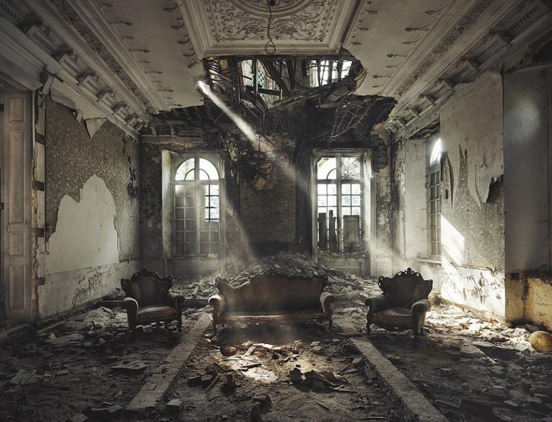 Увядающая красота заброшенных мест от Ребекки Лиллит Батори
